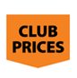 Club prices